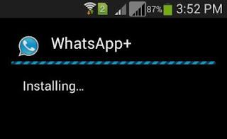 whatsapp plus install