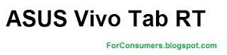 Asus Vivo Tab RT tablet