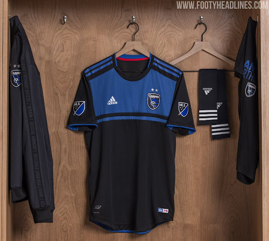 the best attitude c0b72 9d188 San Jose Earthquakes 2019 Home Kit Released - Footy Headlines