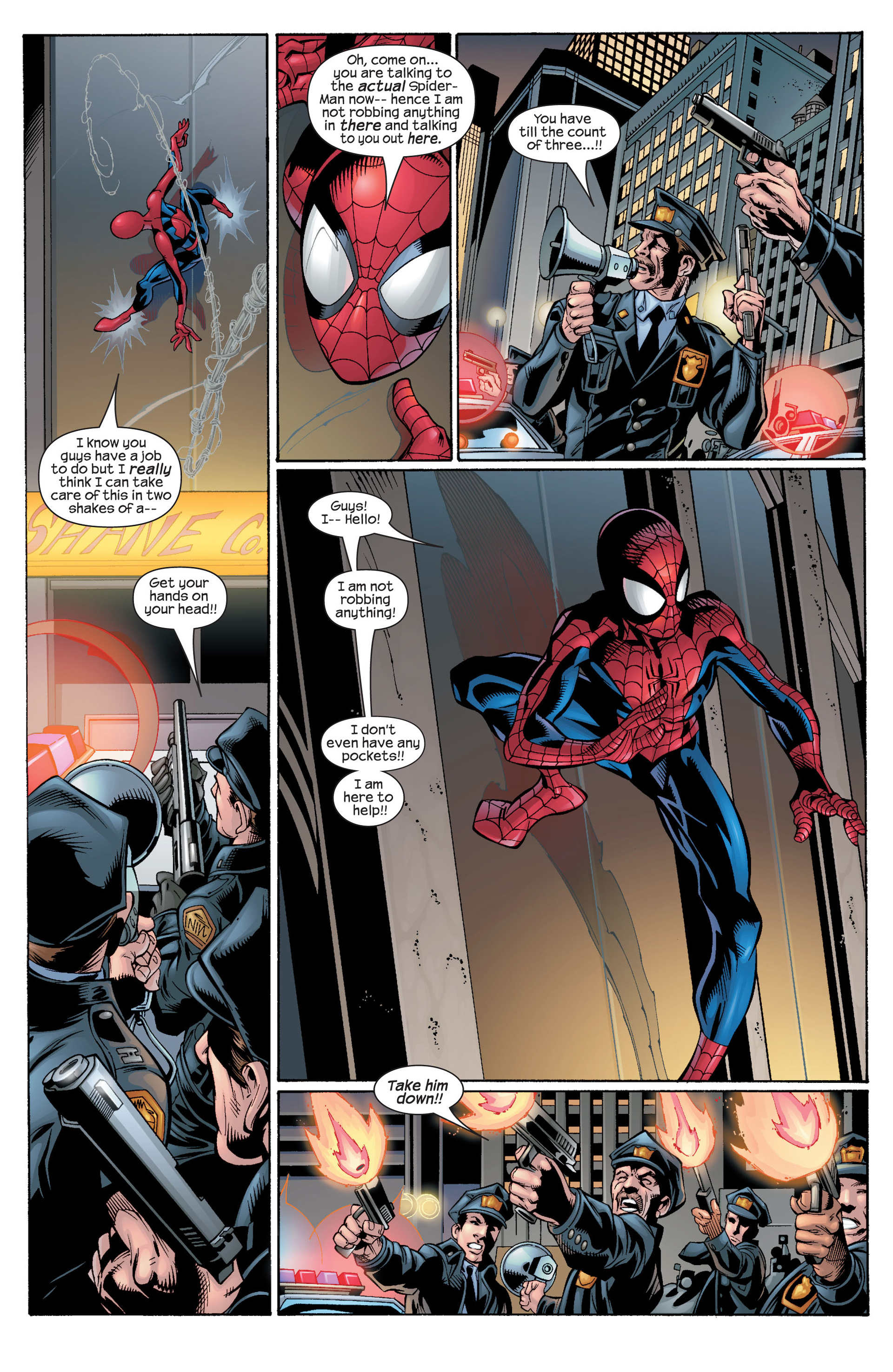 Read online Ultimate Spider-Man (2000) comic -  Issue #29 - 22