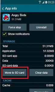 Cara Memindahkan Aplikasi ke Kartu SD? pada Samsung Galaxy 5