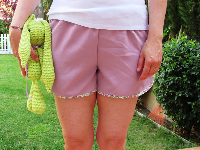 Patrón gratuito shorts