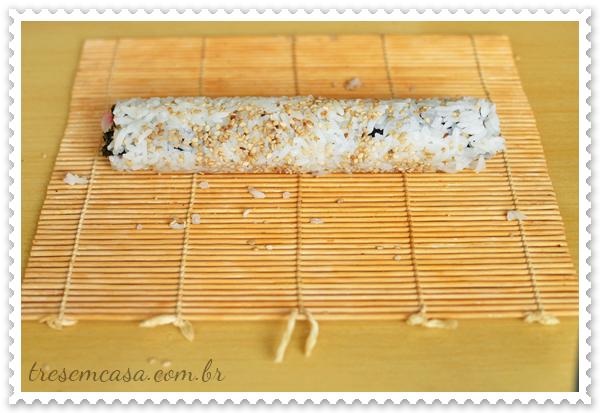 sushi california receita
