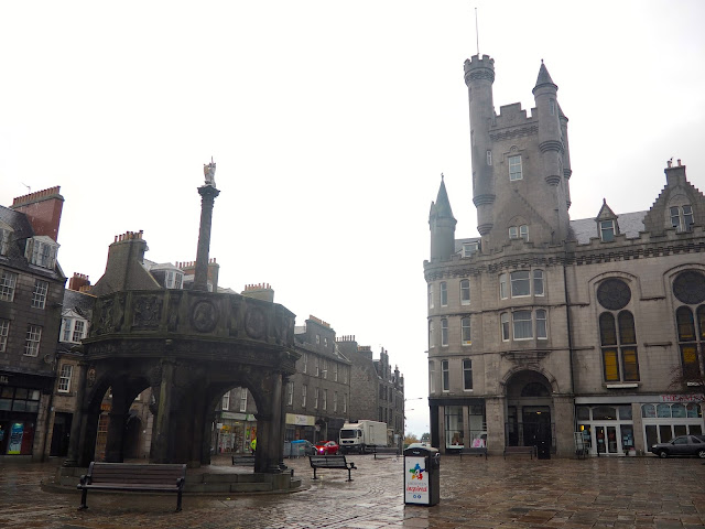 Mercat Cross, Aberdeen, Scotland