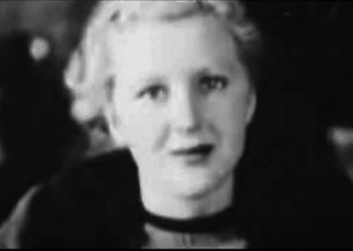 Eva in 1935.