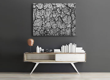 grey, black and white, urban abstract, concrete, industrial abstract art, wall art, contemporary, modern art, landscape, Sam Freek, canvas art, cracks