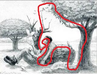 Ilusão de ótica: Encontre o cavalo