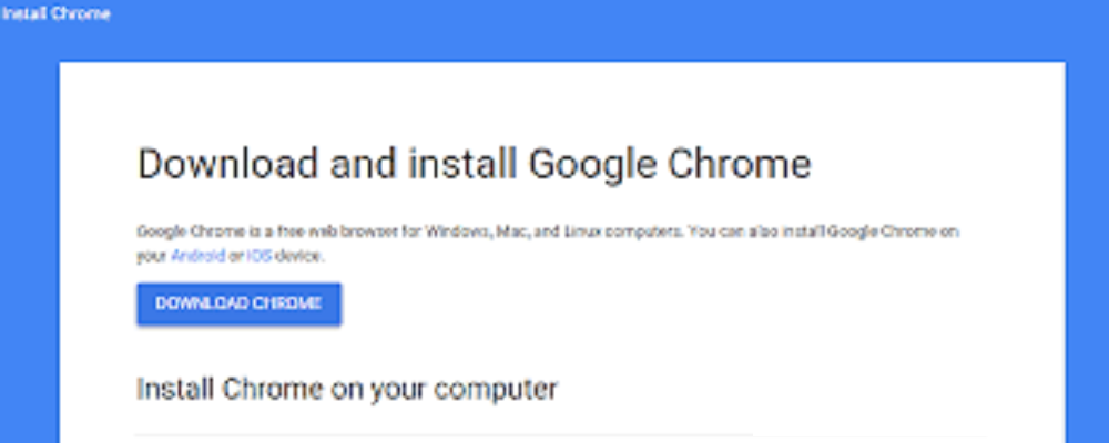 How to Download Install Google Chrome Browser? | 18002402551