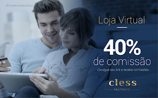 Loja virtual cless multinivel