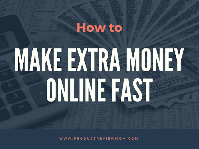 How to Make Extra Money Online Fast for Unexpected Bills  via  www.productreviewmom.com
