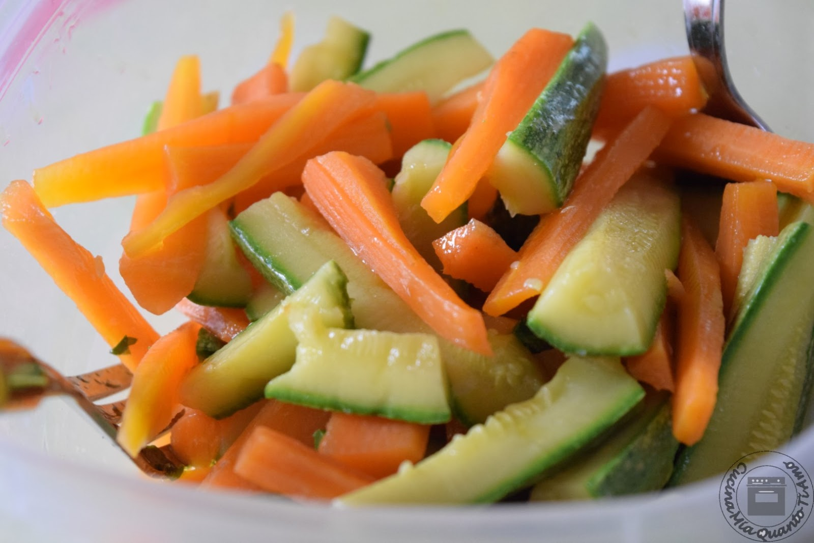 Ricetta Zucchine Bollite.Cucina Mia Quanto Ti Amo Carote E Zucchine Lesse
