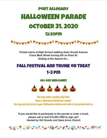 10-31 Port Allegany Halloween Parade