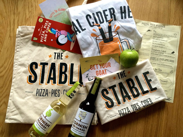 goody bag from The Stable Wassail