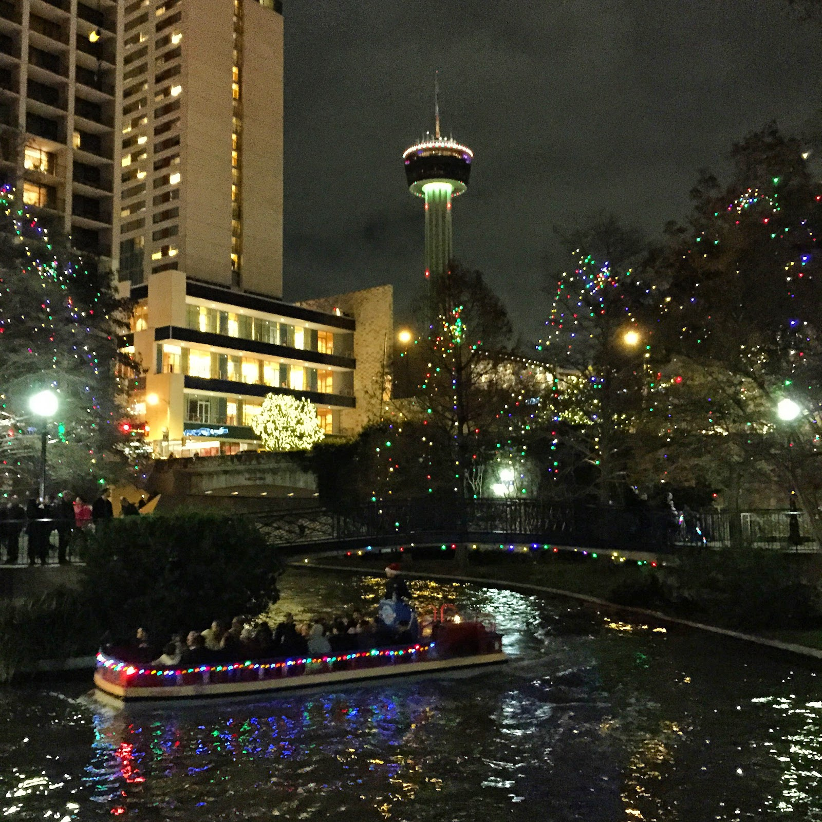 San Antonio-Riverwalk-Lights
