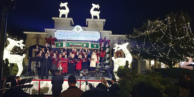 California Great America's Winterfest