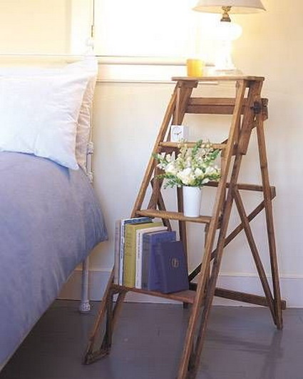 More ideas for decorating with ladders 2