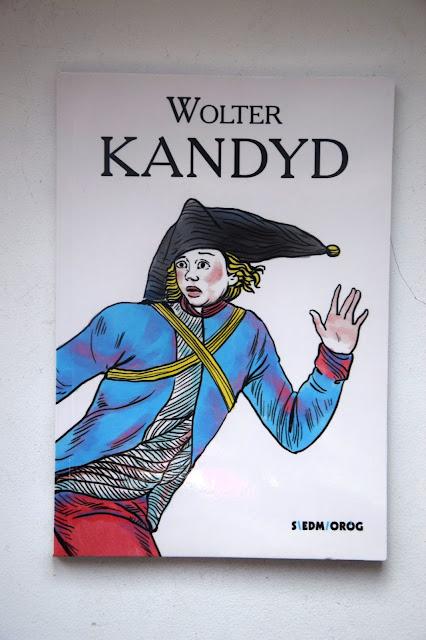 """Recenzje #70 - """"Kandyd czyli optymizm"""" - okładka książki pt. """"Kandyd, czyli optymizm"""" - Francuski przy kawie"""