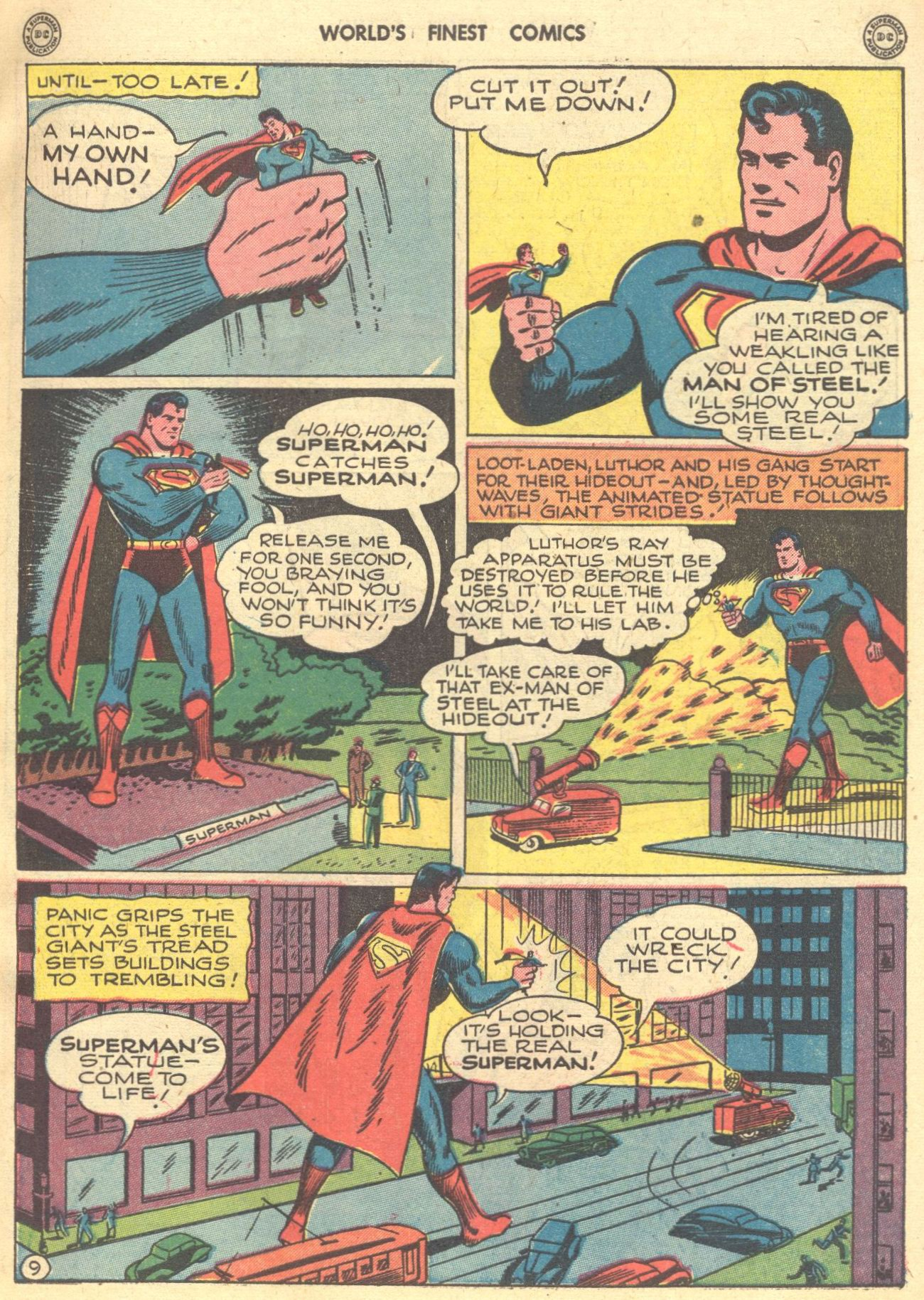 Read online World's Finest Comics comic -  Issue #28 - 10