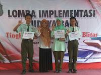 3 Siswa MTsN 1 Kota Blitar Raih Juara dalam Lomba Implementasi Budaya Baca