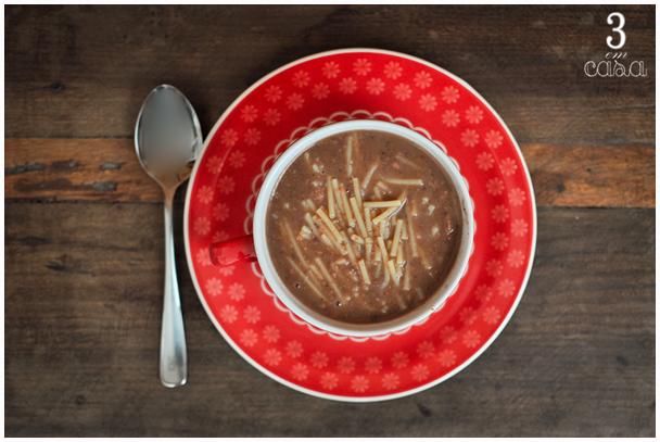 receita de sopa de feijão