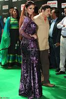 Shilpi Sharma looks Glamorous in Transparent Purple Glittering Gown at IIFA Utsavam Awards 016.JPG