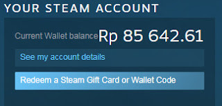 cara menambah steam wallet