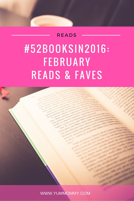 #52BooksIn2016 | February Reads and Faves