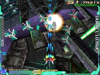 Raycrisis arcade game portable