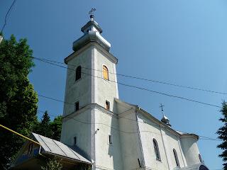 Перечин. Свято-Николаевская церковь. 1769 г.