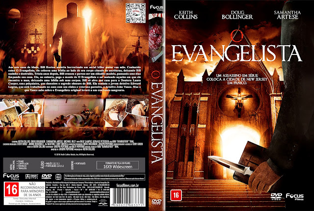 Capa DVD O Evangelista [Exclusiva]