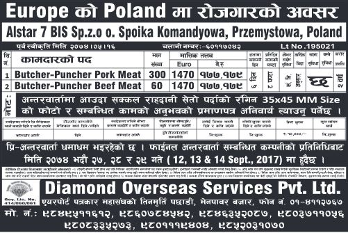 CARRER OPPORTUNITY IN POLAND