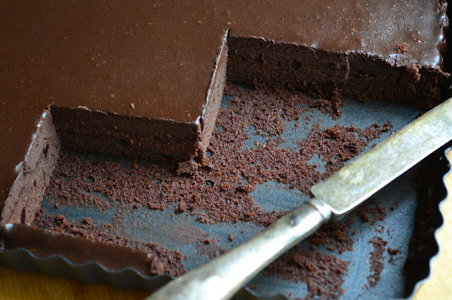 Cold Chocolate Snacking Cake --- keep a batch in the fridge at all times! * theviewfromgreatisland.com