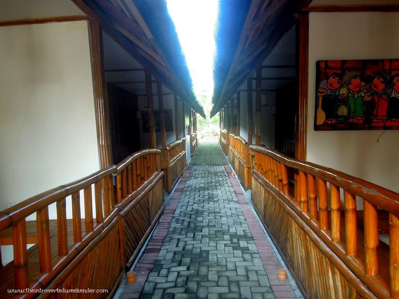 Pathway with view of the rooms at Baler Casitas Bed and Breakfast