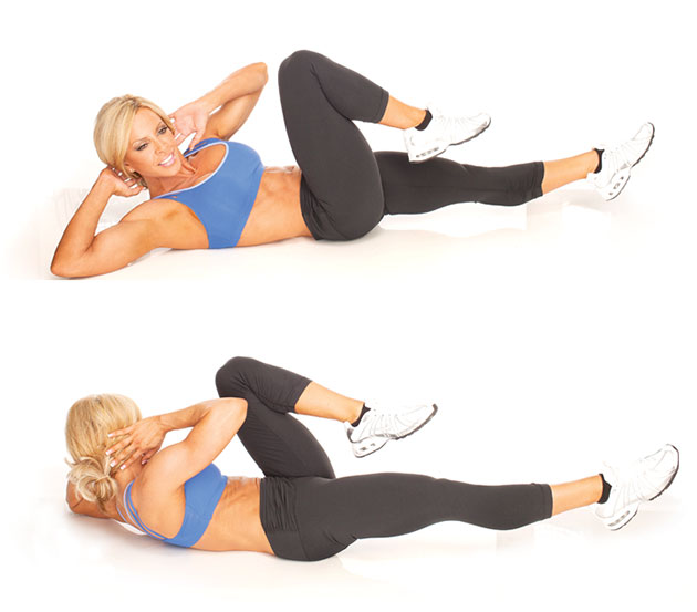 Bicycle Crunches: The Best Core Exercise According to ACE ...