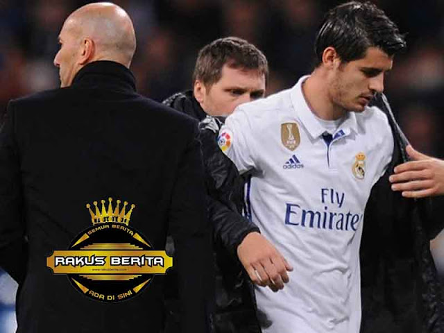 Zidane Mengaku Menyesal Lepas Morata Dan Mariano
