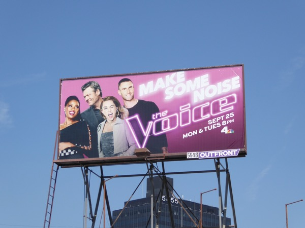 The Voice season 13 billboard