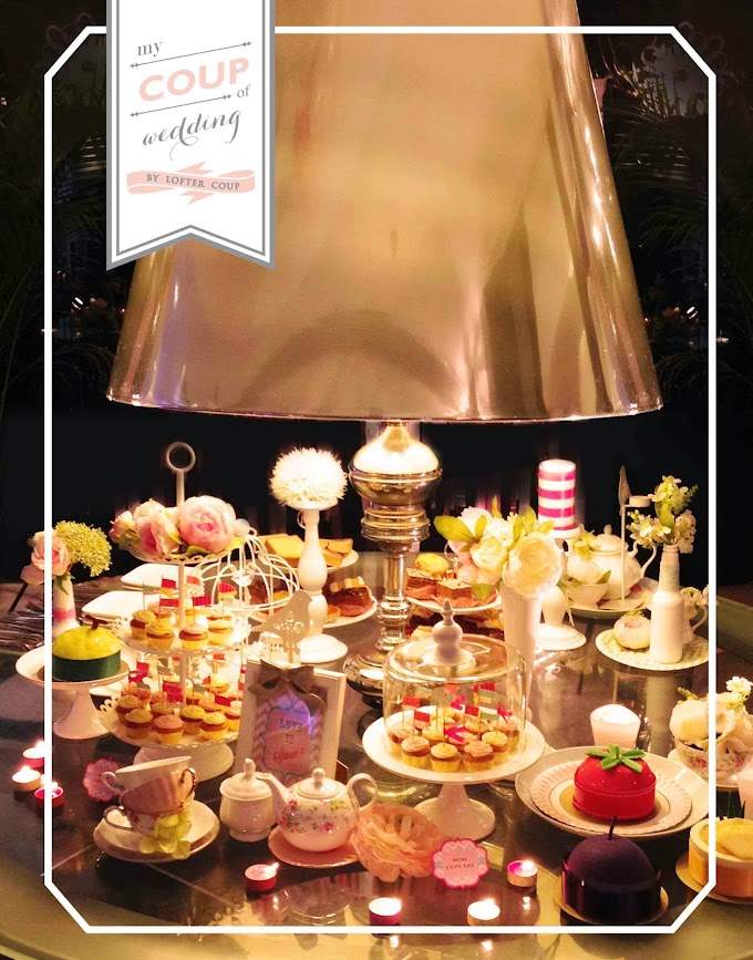 "Wedding Decoration ""Alice in wonderland"" style desert table - ClunOne@ Kwun Tong"