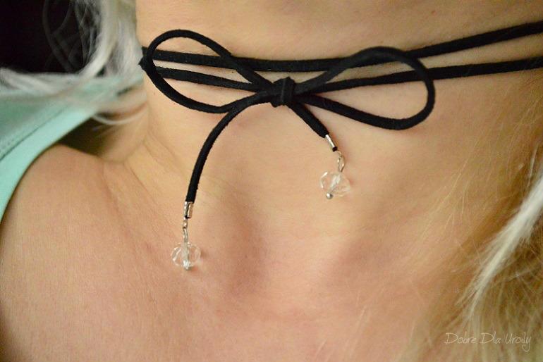 InspiredBy zestaw U.R.O.K - EDYCJA VI Coralove biżuteria choker z kryształkami