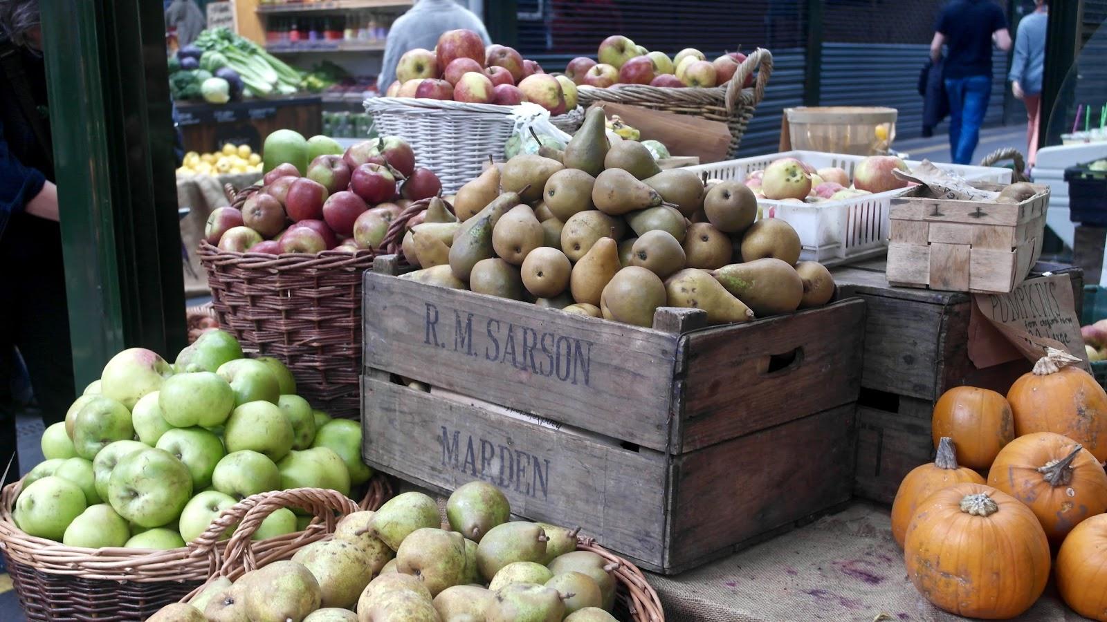 Fresh produce - Borough Market