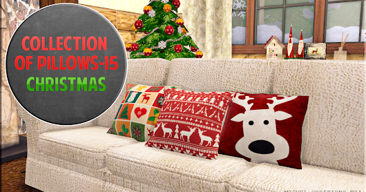 Collection of Pillows - 15 (Christmas)