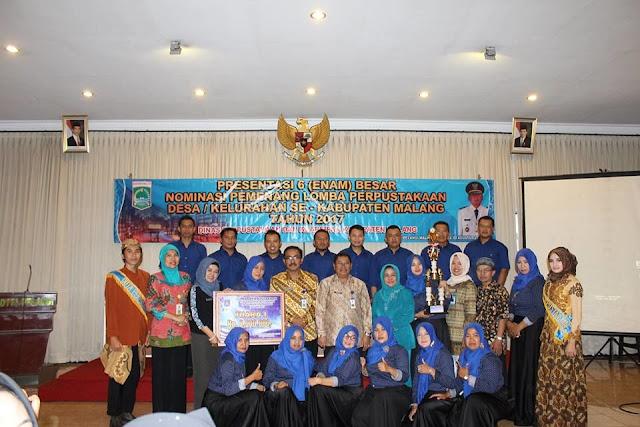Profil Perpustakaan GGM Malang, Perpustakaan Desa Terbaik 2018