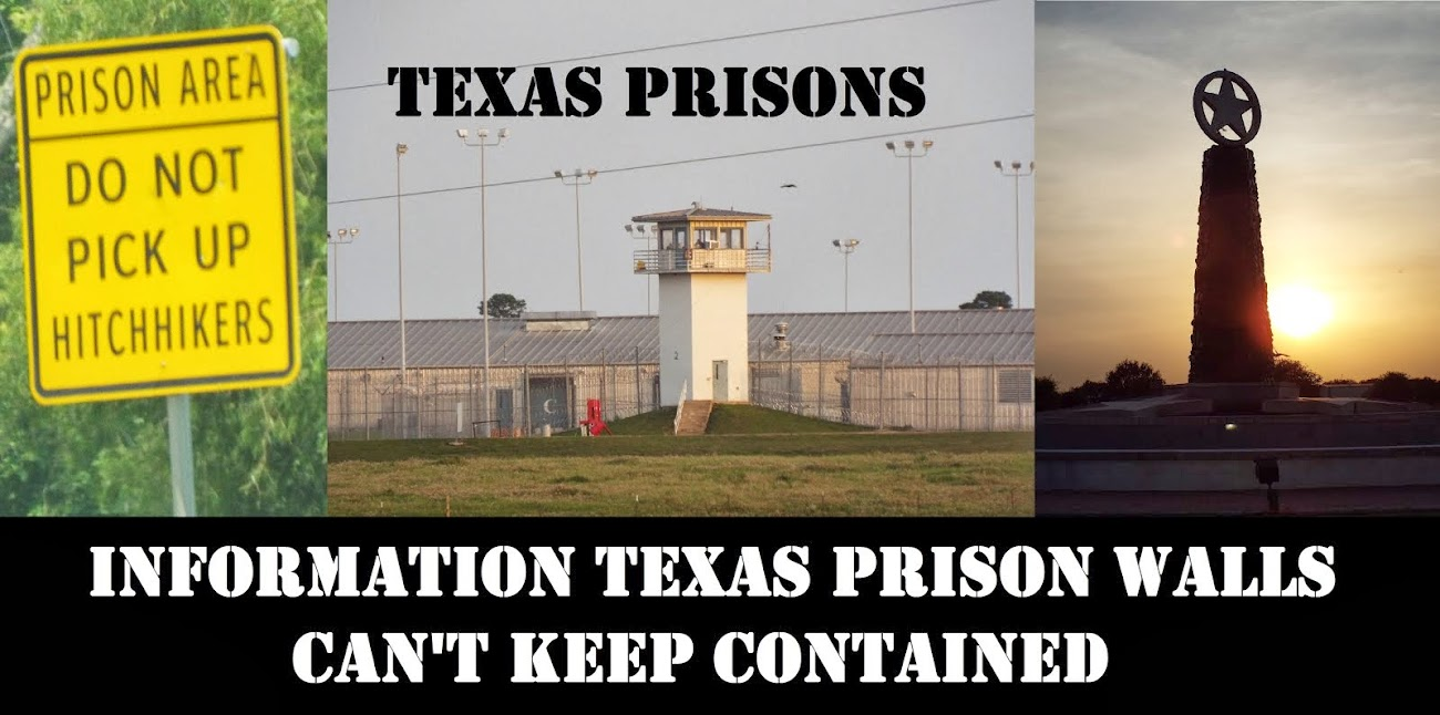 texas prisons blog