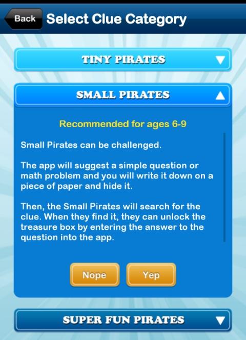 home treasure hunt app small level