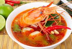 Resep praktis (mudah) tom yam goong spesial (istimewa) khas Thailand yang enak, sedap, gurih, nikmat dan lezat