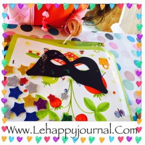 chouette box, box, DIY, enfant, creative, coffret, abonnement, activités enfants, happy journal, partenaire