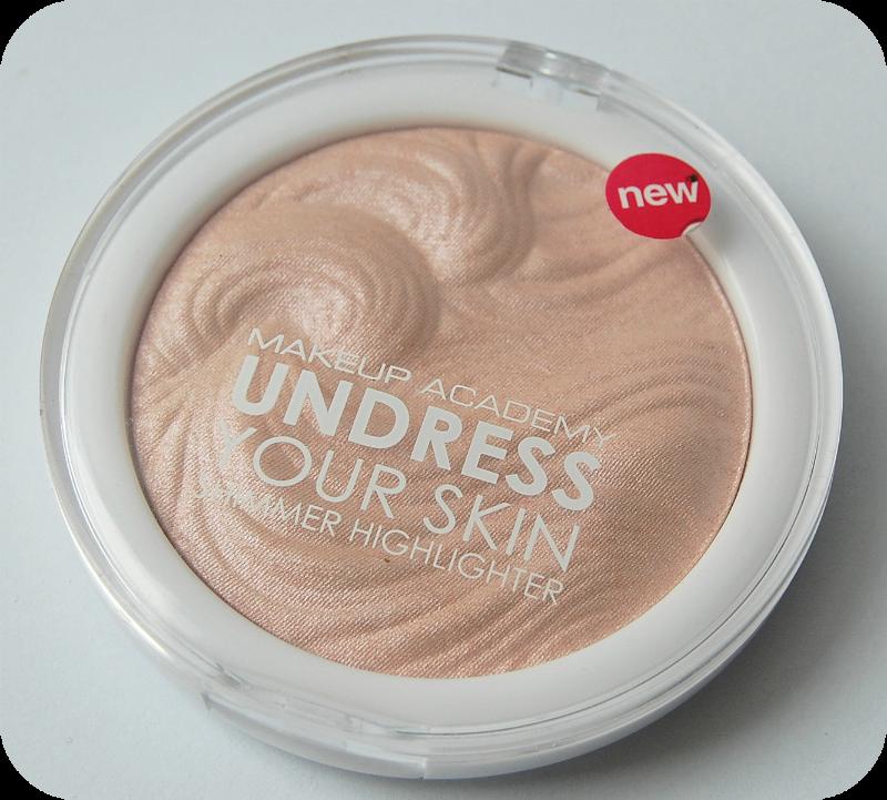 mua undress your skin highlighter pink shimmer review