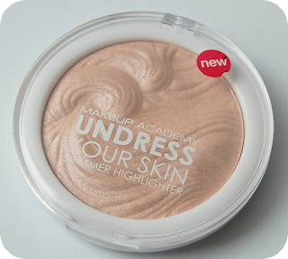 mua undress your skin highlighter pink shimmer review