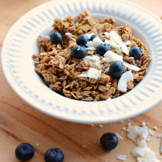 Bless This Mess | Healthy Honey Coconut Granola