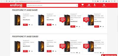 Dimana Saya Bisa Membeli Xiaomi Phocophone F1?