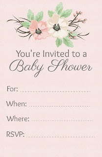 free baby shower invitations to print